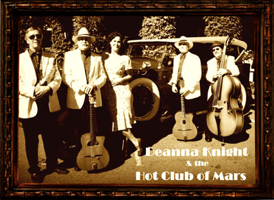 Deanna Knight and Hot Club of Mars